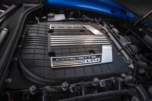 2015 Corvette Z06 650 Horsepower Supercharged LT4 V-8 engine