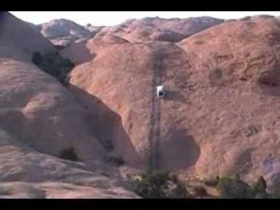 Ford Crown Victoria Tackles Hell's Revenge Trail In Moab