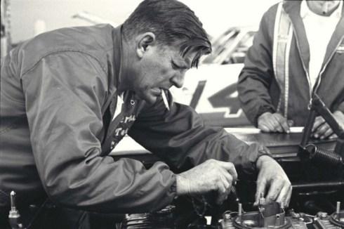 Bud Moore at Motor Trend 500 in 1967