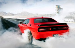 2015 Dodge Challenger SRT Hellcat Burn Out