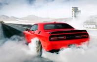 2015 Dodge Challenger SRT Hellcat Burn Out