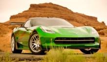 Transformers 2015 Chevy Corvette Stingray Autobot Crosshairs