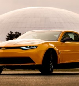 "Chevy Camaro and Corvette Star in ""Transformers: Age of Extinction"""