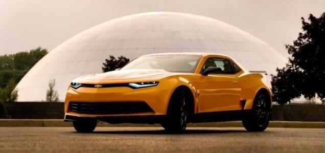 Transformers 2015 Chevy Camaro Concept Car Autobot Bumblebee