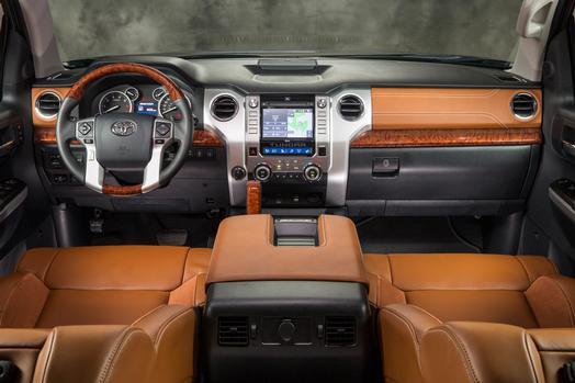 2014 Toyota Tundra CrewMax 1794 Edition Interior