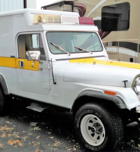 Found On eBay: 1982 Jeep Scrambler Ambulance Conversion