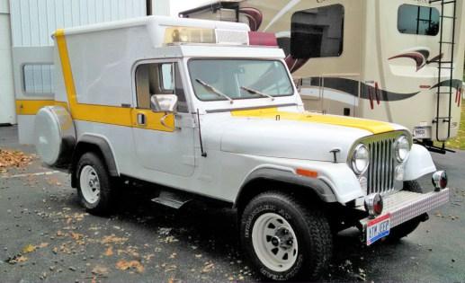 1982 Jeep Scrambler Ambulance