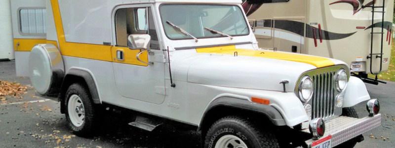 Found On eBay: 1982 Jeep Scrambler Ambulance Conversion