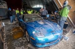 2009 Corvette ZR1 Museum Sinkhole Damage