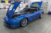 2009 Corvette ZR1 Museum Sinkhole Restored Chevy GM