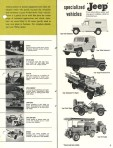 Jeep Industrial Vehicles Wrecker, Ambulance, Snow Plow, Fork Lift, Back Hoe