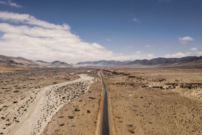 Motorcycle-Diaries ride through Chile
