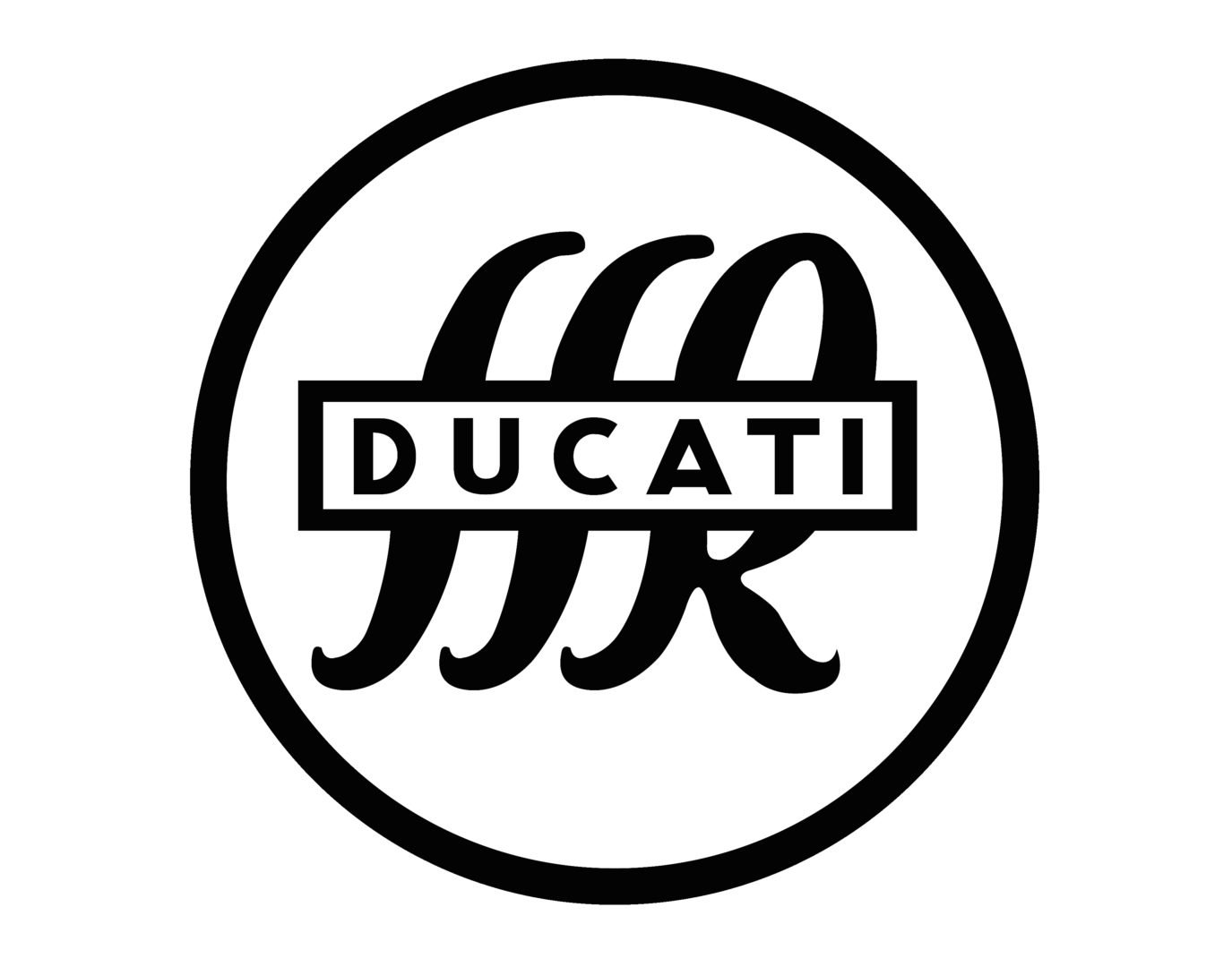 Ducati motorcycle logo history and Meaning, bike emblem