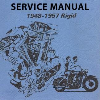 1948-1957 Rigid Panhead Models Service Manual