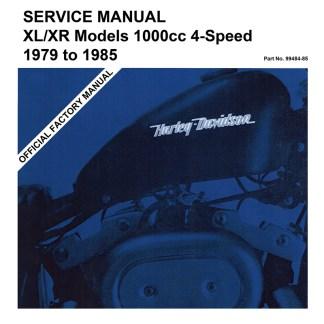 1979-1985 XL/XR 1000 Sportster Service Manual