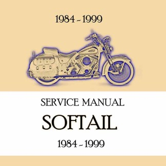 1984-1999 Softail Models Service Manual
