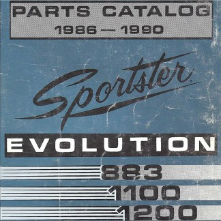 1986-1990 Sportster Evo Models Parts Catalog