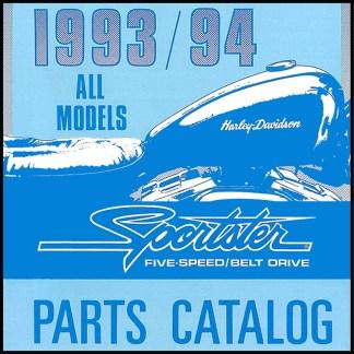 1993-1994 Sportster Models Parts Catalog