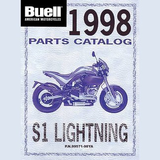 1998 Buell Lightning S1 Models Parts Catalog