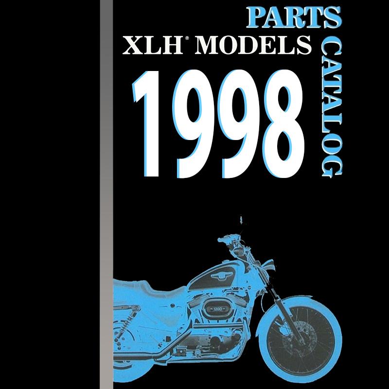 Harley Davidson 1993-1994 Sportster Parts Catalog 99451-94 Parts ...
