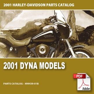 2001 Dyna Models Parts Catalog