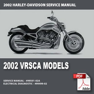 2002 VRSCA Models Service Manual