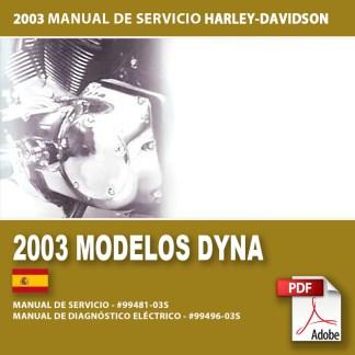 2003 Manual de Servicio Modelos Dyna