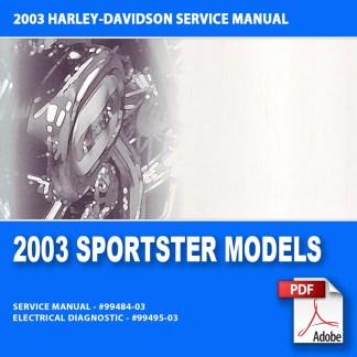 2003 Sportster Models Service Manual