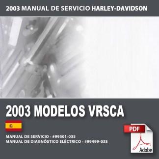 2003 Manual de Servicio Modelos VRSCA