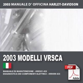 2003 Manuale di manutenzione modelli VRSCA