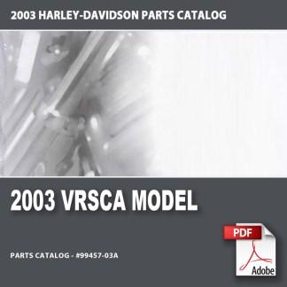 2003 VRSCA Models Parts Catalog
