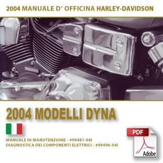 2004 Manuale di manutenzione modelli Dyna