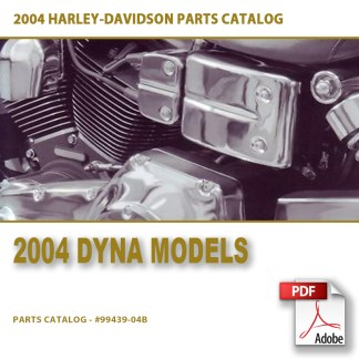 2004 Dyna Models Parts Catalog