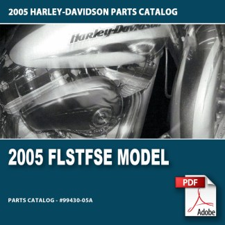 2005 FLSTFSE Model Parts Catalog #99430-05A