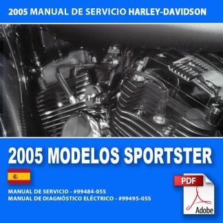 2005 Manual de Servicio Modelos Sportster