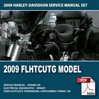2009 Trike Models Service Manual