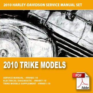 2010 Trike Models Service Manual