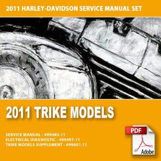 2011 Trike Models Service Manual