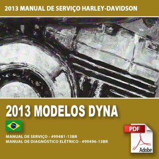 2013 Manual de Serviço dos Modelos Dyna