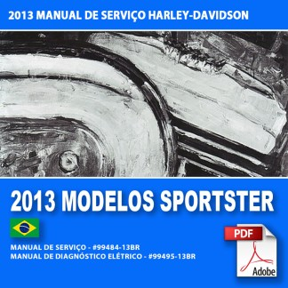 2013 Manual de Servitor dos Modelos Sportster