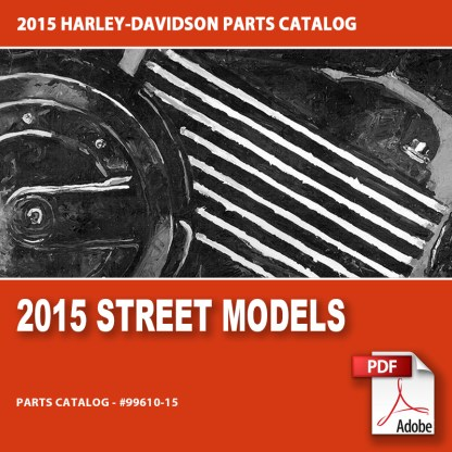 2015 Street Models Parts Catalog