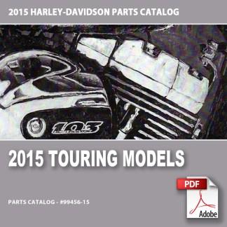 2015 Touring Models Parts Catalog