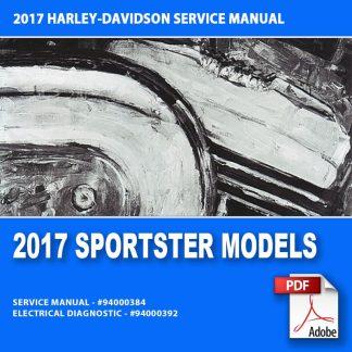 2017 Sportster Models Service Manual