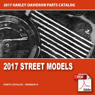 2017 Street Models Parts Catalog