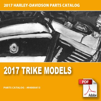 2017 Trike Models Parts Catalog