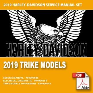 2019 Trike Models Service Manual