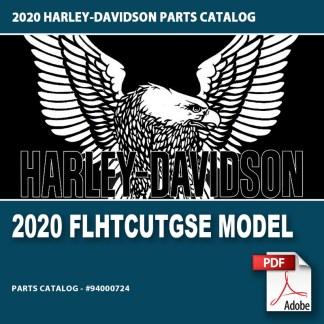 2020 FLHTCUTGSE Model Parts Catalog
