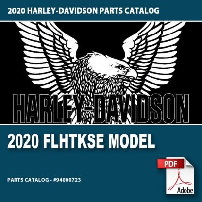 2020 FLHTKSE Model Parts Catalog #94000723