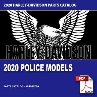 2020 Police Model Parts Catalog #94000720