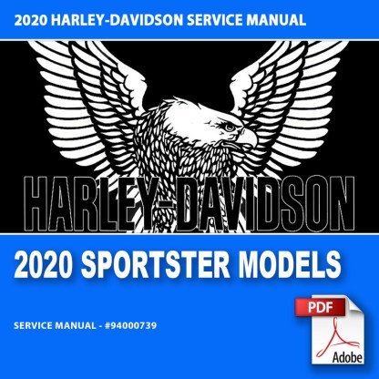 2020 Sportster Models Service Manual #94000739